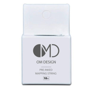 om design pre-inked brow mapping string