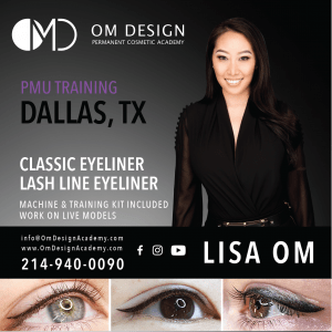 PERMANENT EYELINER TRAINING DALLAS OM DESIGN ACADEMY