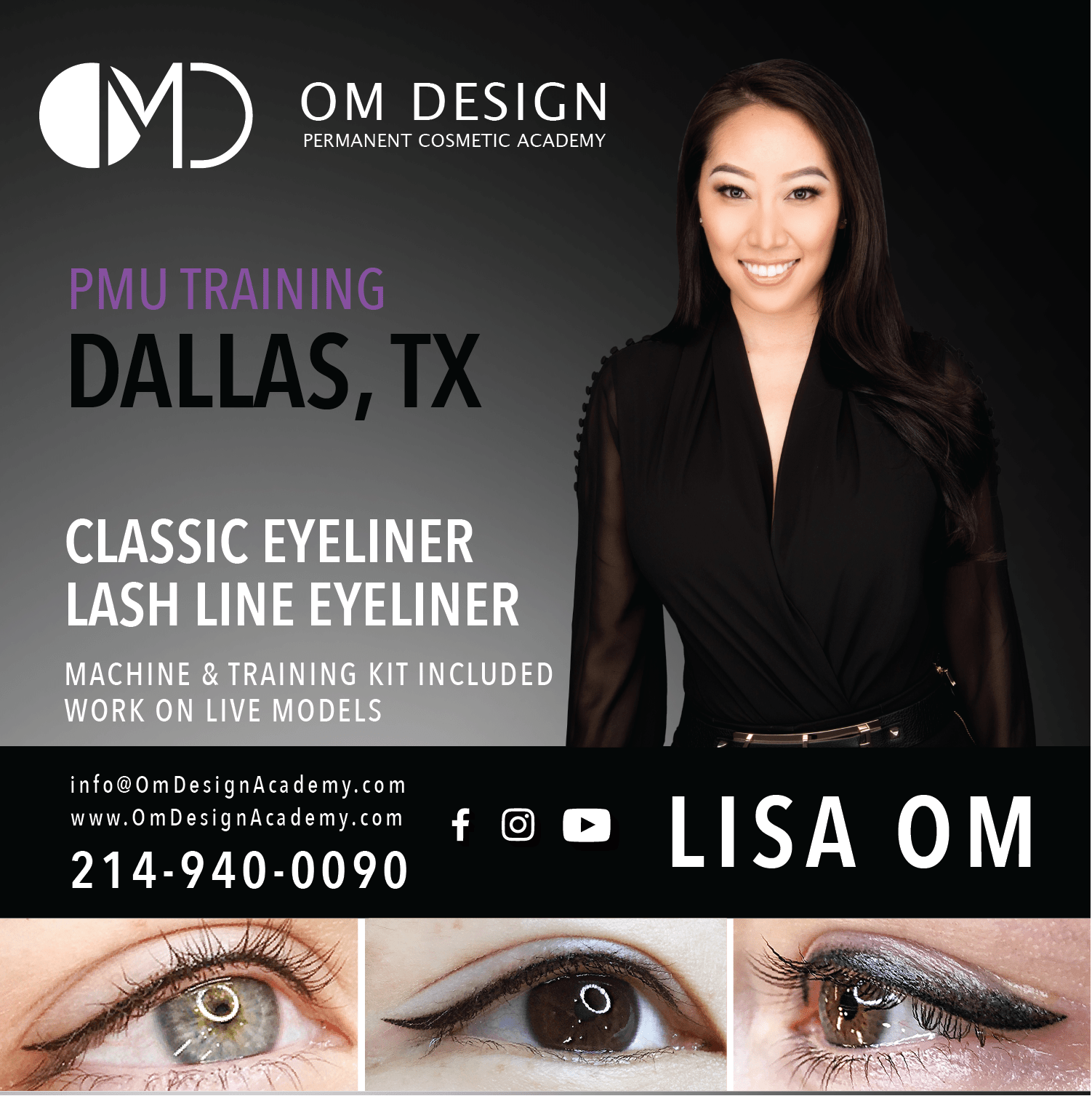 Day Dallas Pmu Eyeliner Training