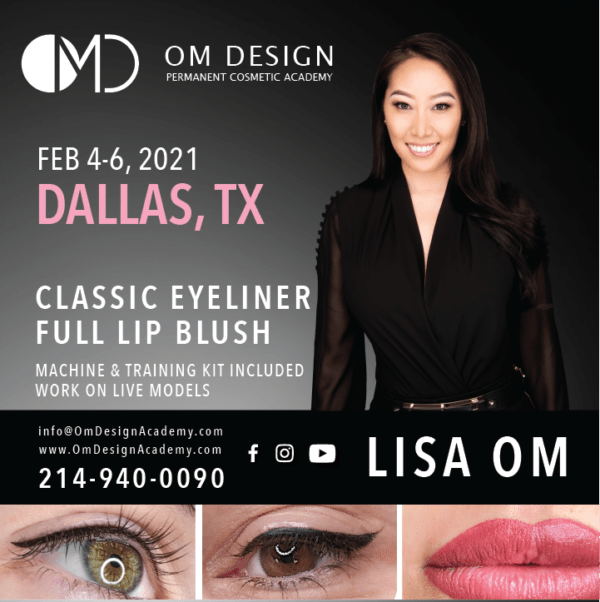 dallas permanent eyeliner and lips training