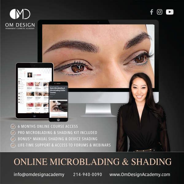 Microblading online trading om design academy