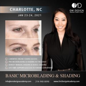 Charlotte microblading training