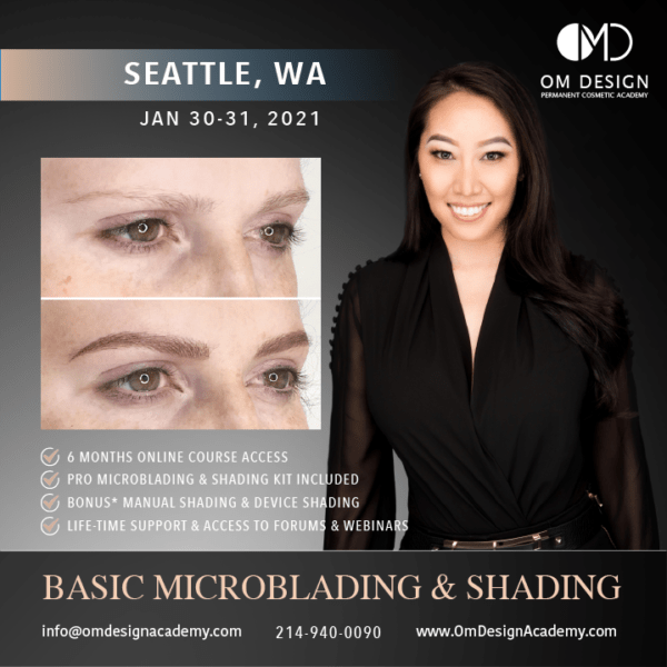 SEATTLE MICROBLADING TRAINING