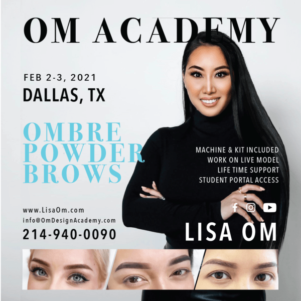 DALLAS ombre powder brows training