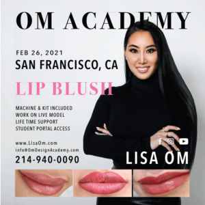 san francisco lip blush training
