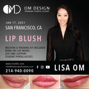 San Francisco lip blush training