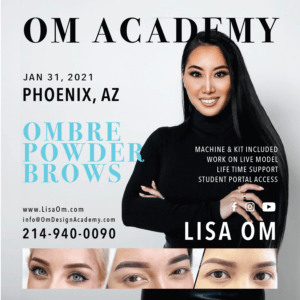 phoenix ombre powder brows training